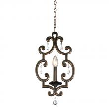 Kalco 2630VI - Montgomery 1 Light Mini Pendant