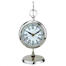 Specials 356971 - Polished Nickel Table Clock