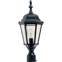 Maxim 1005BK - Westlake Cast 1-Light Outdoor Pole/Post Lantern