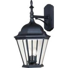 Maxim 1008BK - Westlake Cast 3-Light Outdoor Wall Lantern