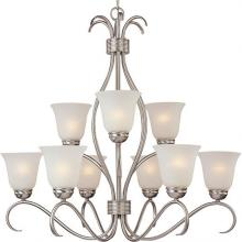 Maxim 10128ICSN - Basix 9-Light Chandelier