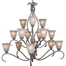 Maxim 10129ICSN - Basix 15-Light Chandelier
