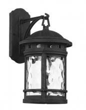 Trans Globe 40370 BK - 1 Light Wall Lantern - SMALL