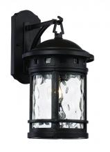Trans Globe 40371 BK - 1 Light Wall Lantern - MEDIUM