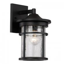 Trans Globe 40380 BK - 1 Light Wall Lantern - SMALL