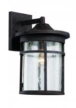 Trans Globe 40382 BK - 1 Light Wall Lantern - LARGE