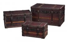 Sterling Industries 117-002 - Sterling Traveller'S Steam Trunks Storage Chests