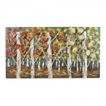 Sterling Industries 129-1107 - Autumn Birch-Autumn Birch Metal Wall D