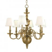 Hudson Valley 1746-AGB - 6 Light Chandelier