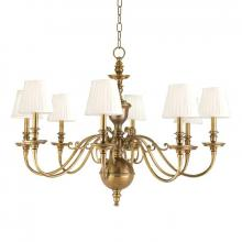 Hudson Valley 1748-AGB - 8 Light Chandelier