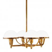 Hudson Valley 3314-AGB - 4 Light Chandelier