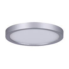 "Canarm LED-SM7DL-BN-C - LED Disk, LED-SM7DL-BN-C, 7"" Painted Brushed Nickel Color Trim, 15W Dimmable, 3000K, 850 Lumen,"