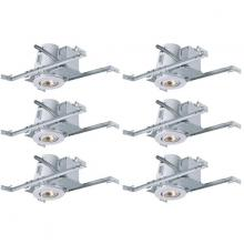 "Canarm RN4NC1TGAWH-6 - Recessed, RN4NC1TGA WH-6, 4"" Non-Insulated with Tilting Gimbal Trim, (T4TG01WHA), 6-Pack Box, Ne"