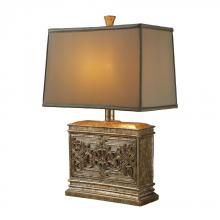 Dimond D1443 - Laurel Run Table Lamp In Courtney Gold With Ria Bronze Shade And Cream Liner