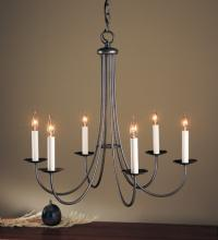 Hubbardton Forge - Canada 101160-SKT-03 - Simple Sweep 6 Arm Chandelier