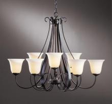 Hubbardton Forge - Canada 101459-SKT-03-ZX0071 - Sweeping Taper 9 Arm Chandelier