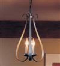 Hubbardton Forge - Canada 101473-SKT-07 - Sweeping Taper 3 Arm Chandelier