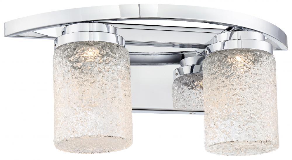 2 light led bath