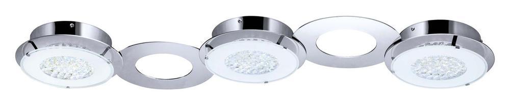 3L LED Ceiling Light : 39036A   Cartwright Lighting:Eglo Canada 39036A - 3L LED Ceiling Light,Lighting