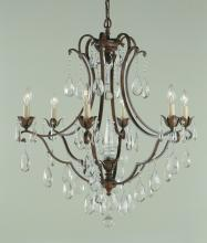 Feiss F1883/6BRB - 6- Light Chandelier